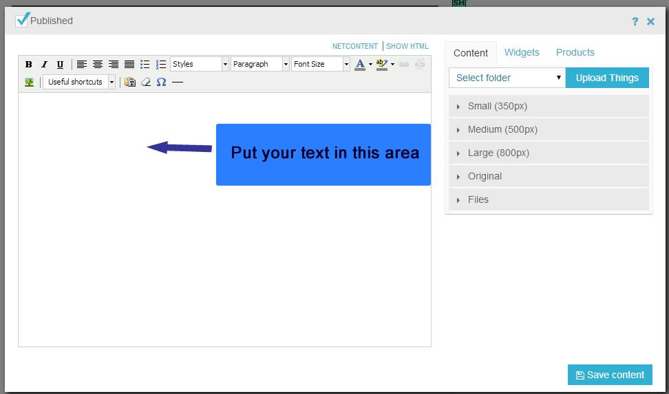 how to add text in iframe in html