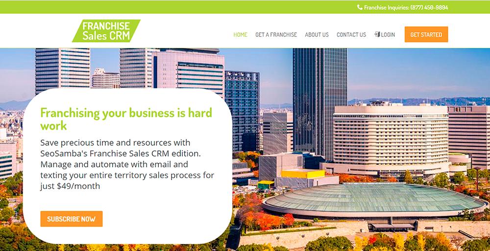 Franchise Sales CRM