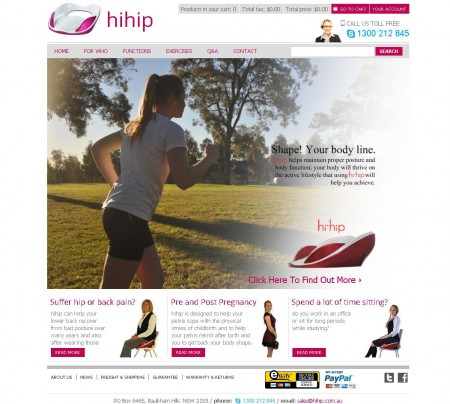 hip back pain